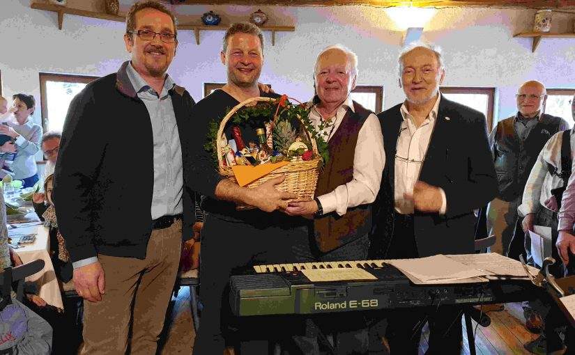 70. Geburtstag von Rainer Schmitt gebührend gefeiert