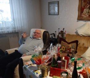 Horst Sutter feiert 85. Geburtstag