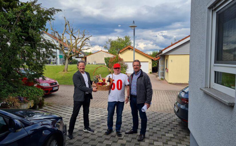 Geburtstagsreigen beim MGV setzt sich fort – Alfred Arndt wird 60 Jahre