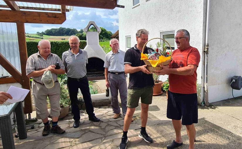 Vereinskoch Uwe feiert 60. Geburtstag